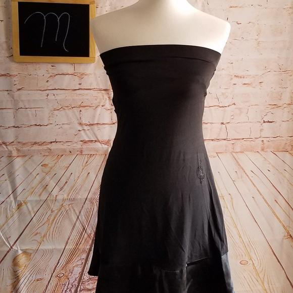 Baby Phat Dresses & Skirts - Baby Phat Strapless Black Mini Dress Size M